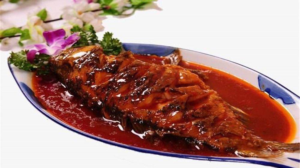 红烧鱼的美味做法图片